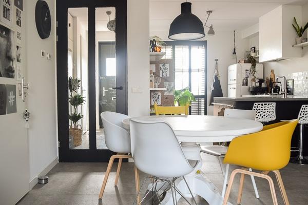 Ronde Eethoek Tafel : Trend ronde eettafel in huis en waarom een ronde eettafel zo