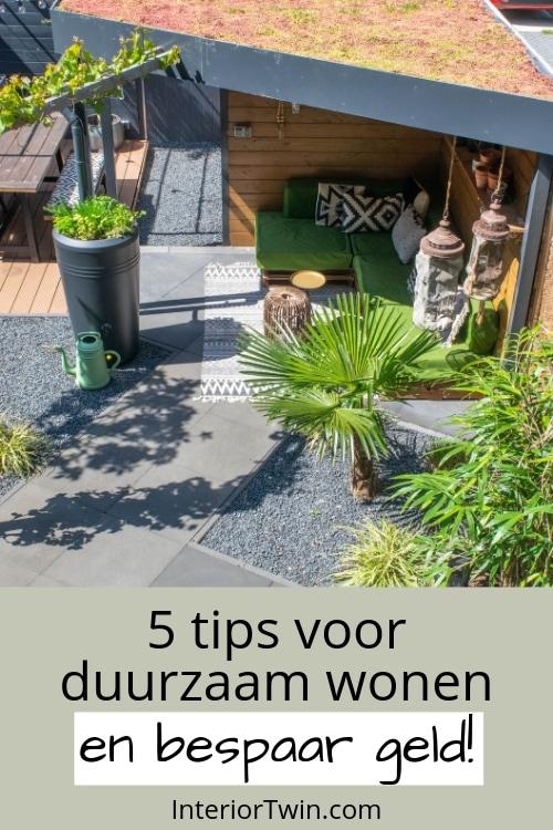 tips voor duurzaam wonen