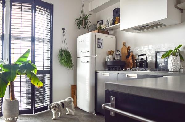 witte smeg koelkast