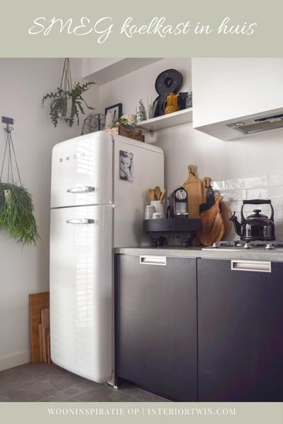 SMEG koelkast in huis