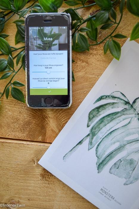 app planten water geven