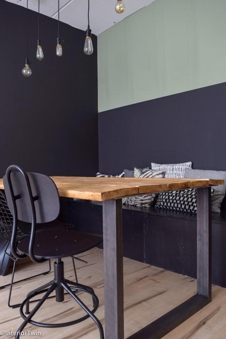 houten bank en tafel zelf maken