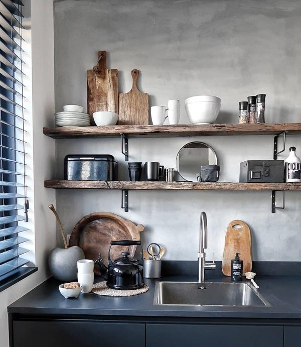 Inspiratie een houten plank in je interieur  InteriorTwin