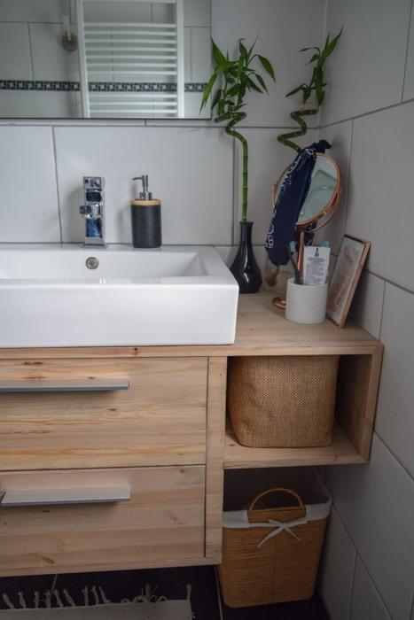 zelf badkamer meubel maken