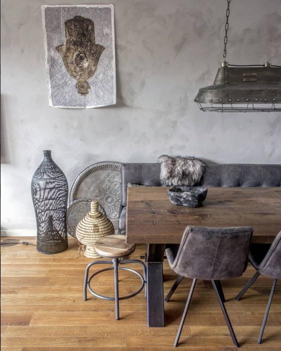 Foto Op De Muur.Inspiratie Tips Voor Een Betonlook Muur In Huis Interiortwin