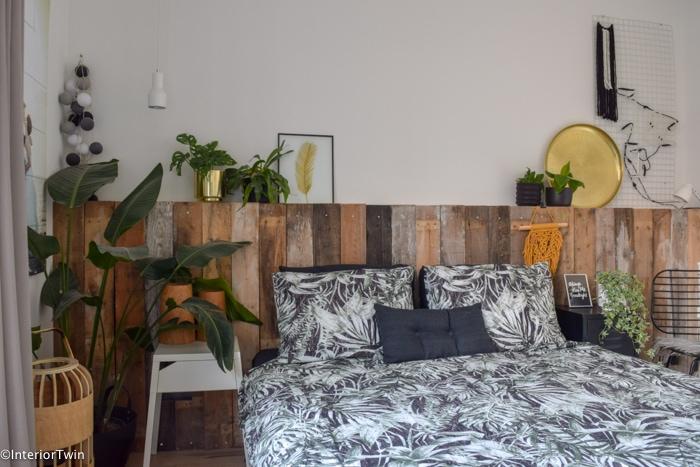 urban jungle slaapkamer