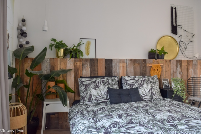 Jungle Thema Slaapkamer : Urban jungle slaapkamer interiortwin