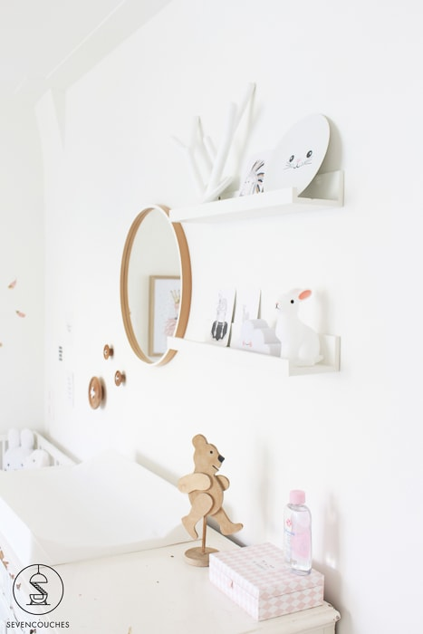 ikeaplankjes babykamer
