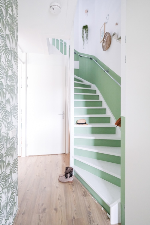 groen witte trap mirjam hart-1