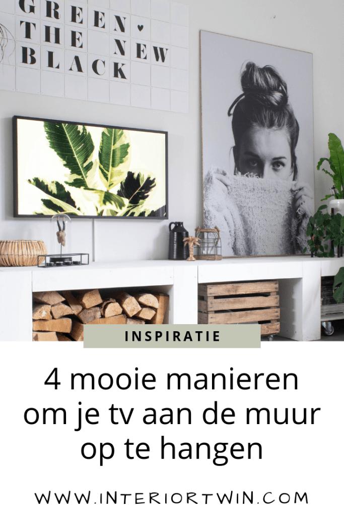 4 mooie manieren om je tv aan de muur op te hangen