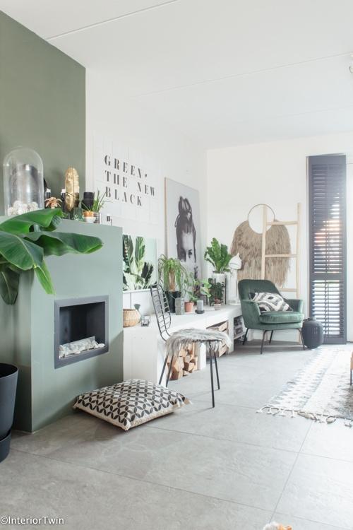 grijze vloertegel woonkamer