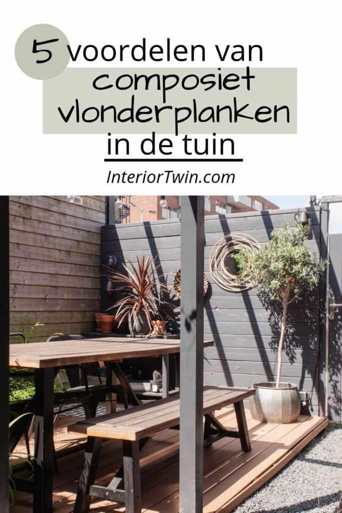voordelen van composiet vlonderplanken in de tuin