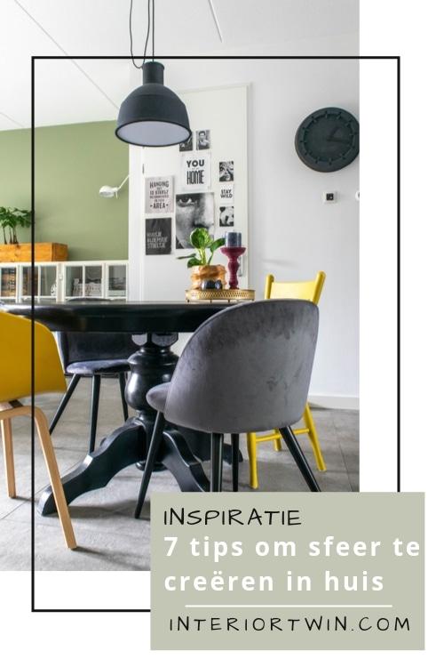 inspiratie hoe je sfeer kan creëren in huis