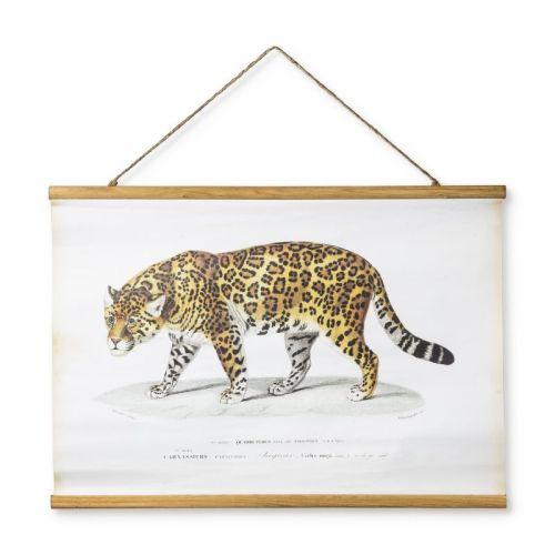 vintage poster luipaard