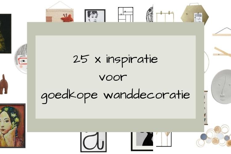 25 x inspiratie voor goedkope wanddecoratie