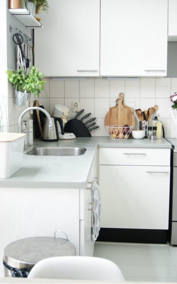 Goede Huurhuis keuken opknappen: ideeën voor het pimpen van je oude keuken IF-38