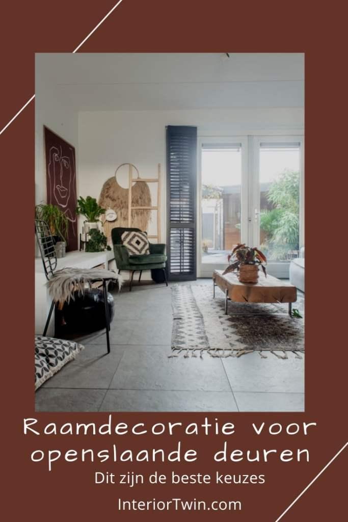 opties raamdecoratie raambekleding openslaande deuren shutters, gordijnen, jaloezieen