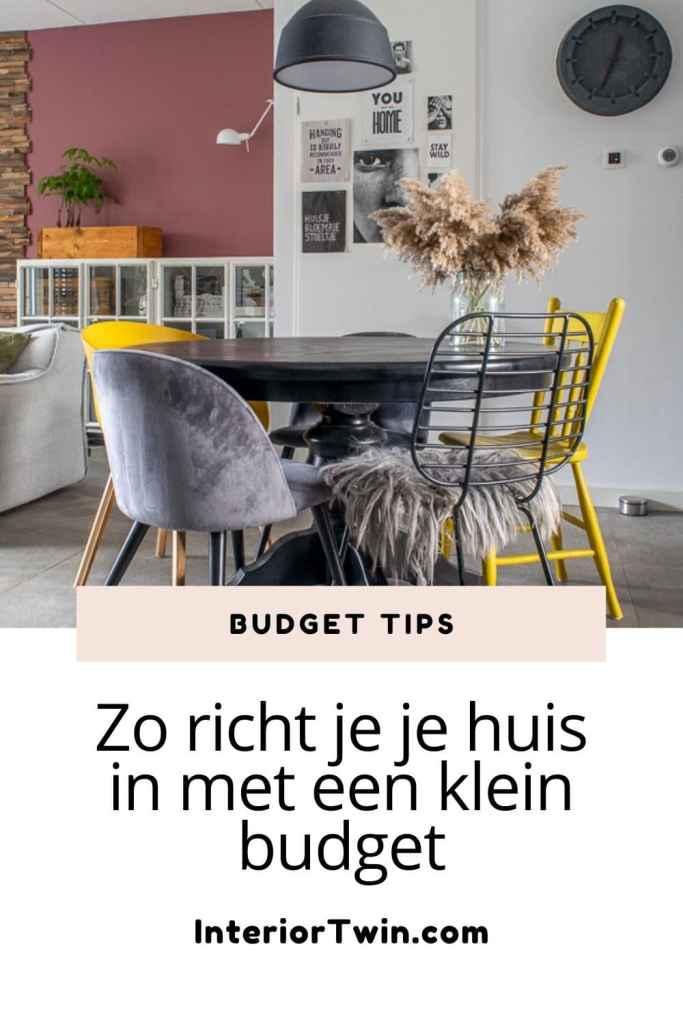 budget tips richt je huis in met weinig geld