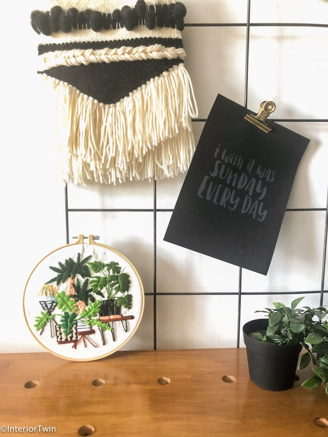 borduurpatroon planten