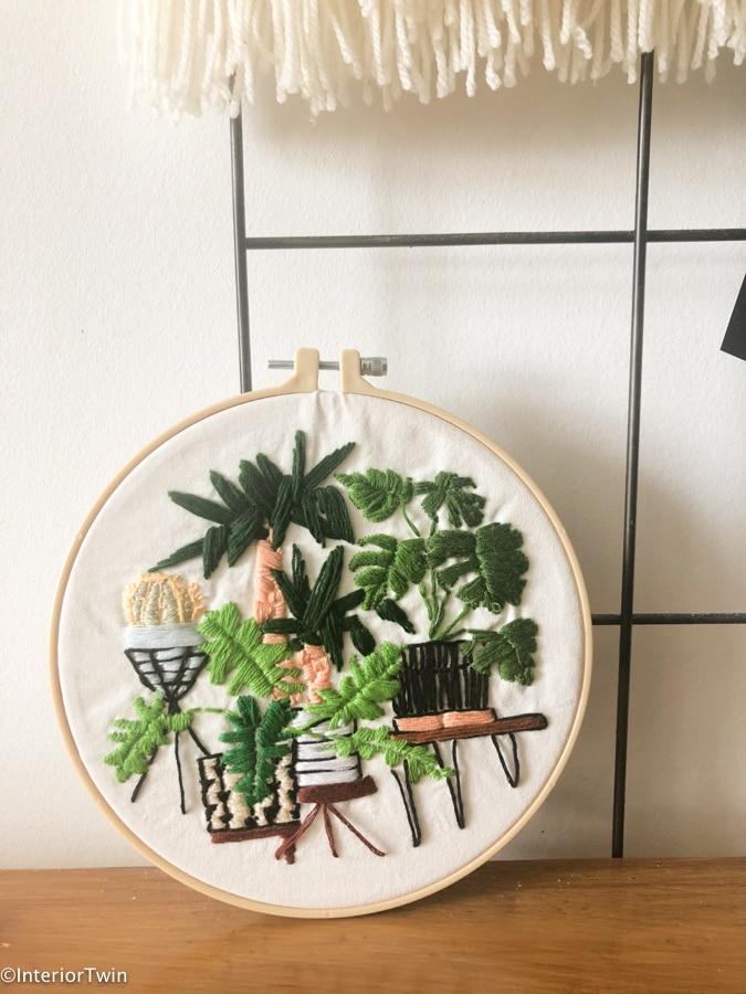 urban jungle moderne planten borduren