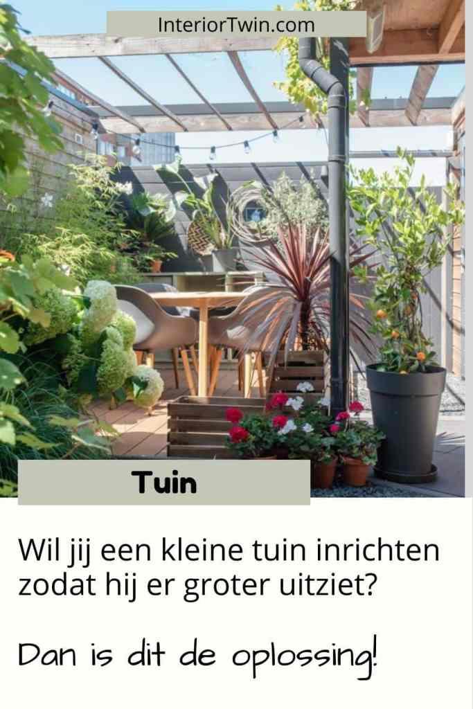 oplossing kleine tuin