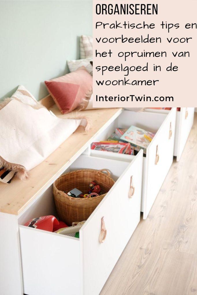 tips opbergen speelgoed woonkamer