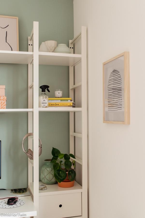 werkplek thuis details accessoires