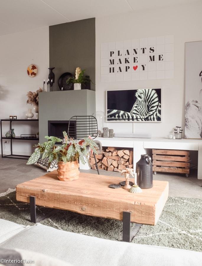 robuuste meubels in huis