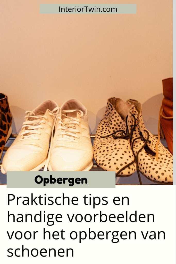 tips voorbeelden opbergen schoenen