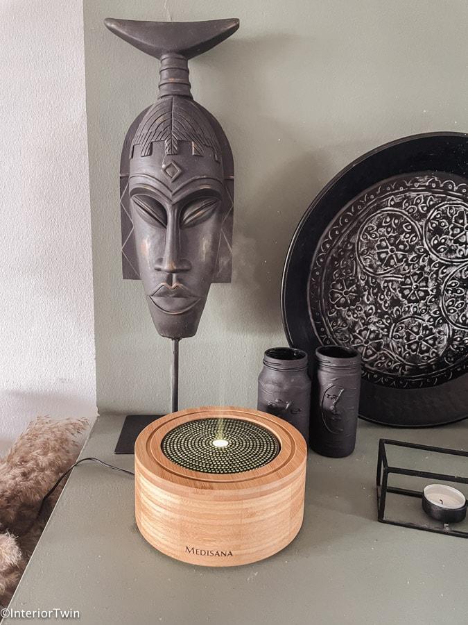 aroma diffuser review voordelen ervaringen bamboe hout