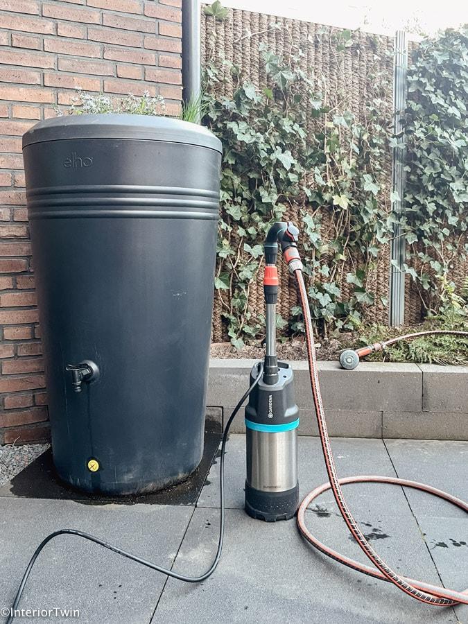 waterpomp gardena 4700-2 inox review aansluiting op regenton-2