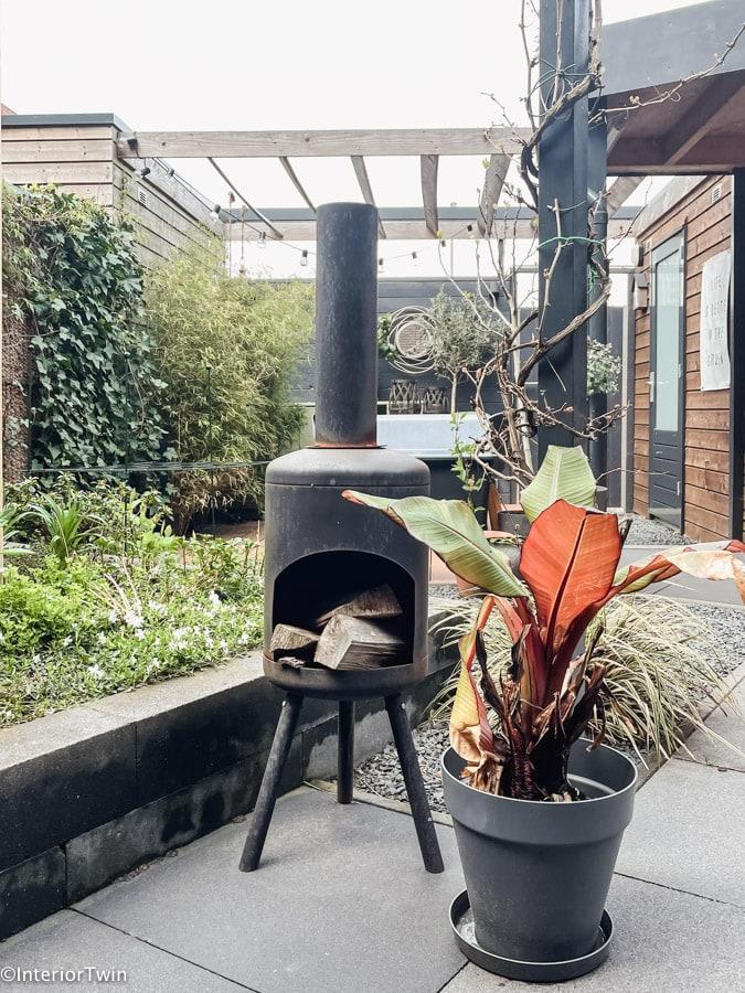 elho plantenbak antraciet buiten
