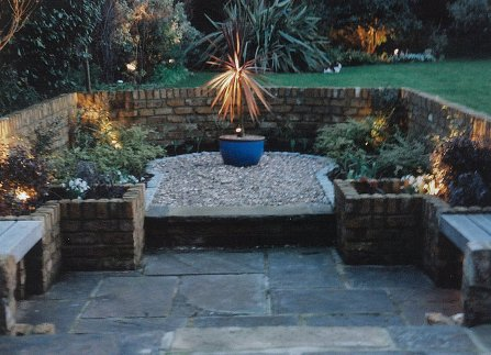 how to decorate my living room rustic rock wall beautiful sunken design ideas for your garden - interior vogue