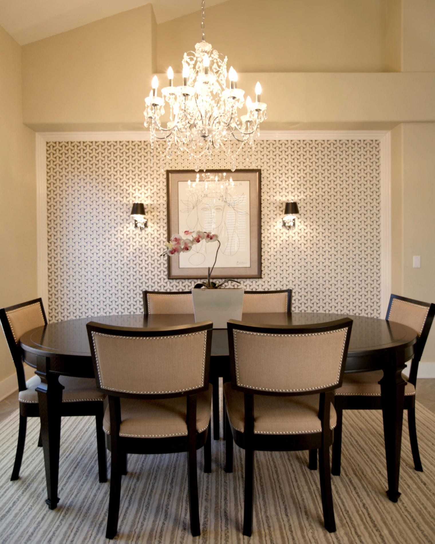 Classic Transitional Dining Room Designs  Interior Vogue