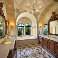 Lavish And Rich Mediterranean Bathroom Designs - Interior ...