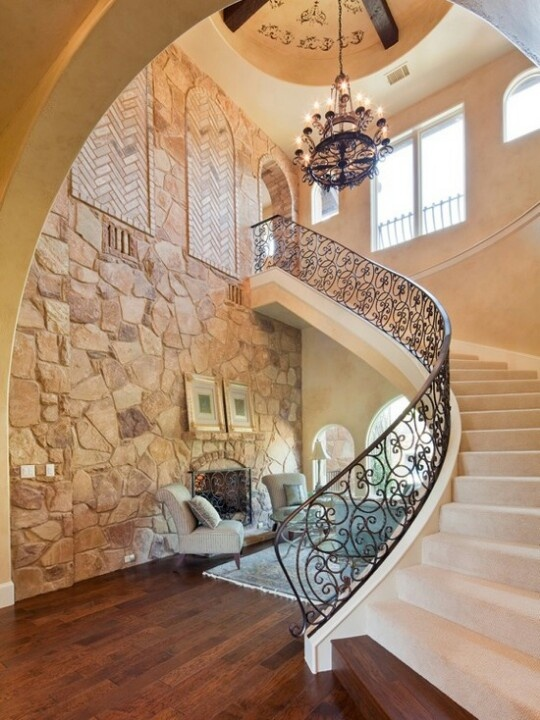 Splendid And Classy Mediterranean Staircase Designs  Interior Vogue