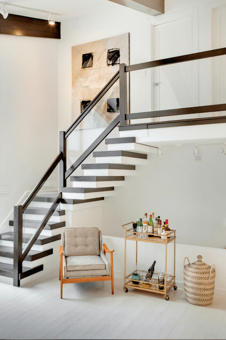 Fabulous Mid Century Modern Staircase Designs Interior Vogue