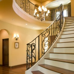 Style For Small Living Room Big Lots Sets Splendid And Classy Mediterranean Staircase Designs ...
