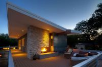 Popular And Trendy Modern Outdoor Fireplaces - Interior Vogue