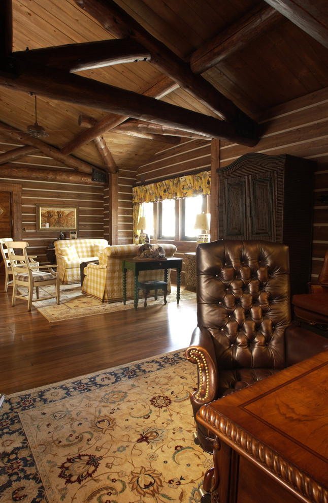 Cool And Classic Rustic Home Office Designs Interior Vogue