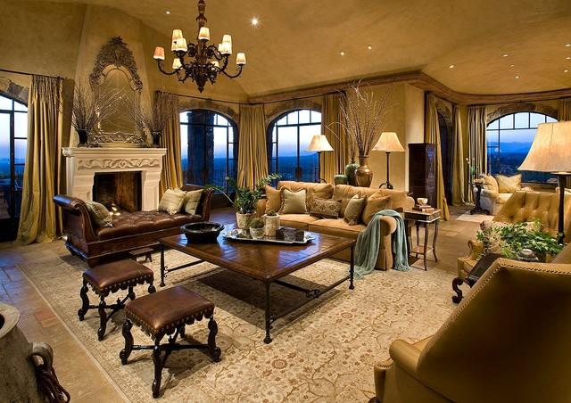 mediterranean living room round couches stunning design ideas interior vogue