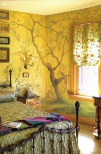 Bedroom Wall Murals In Classy Bedroom Designs
