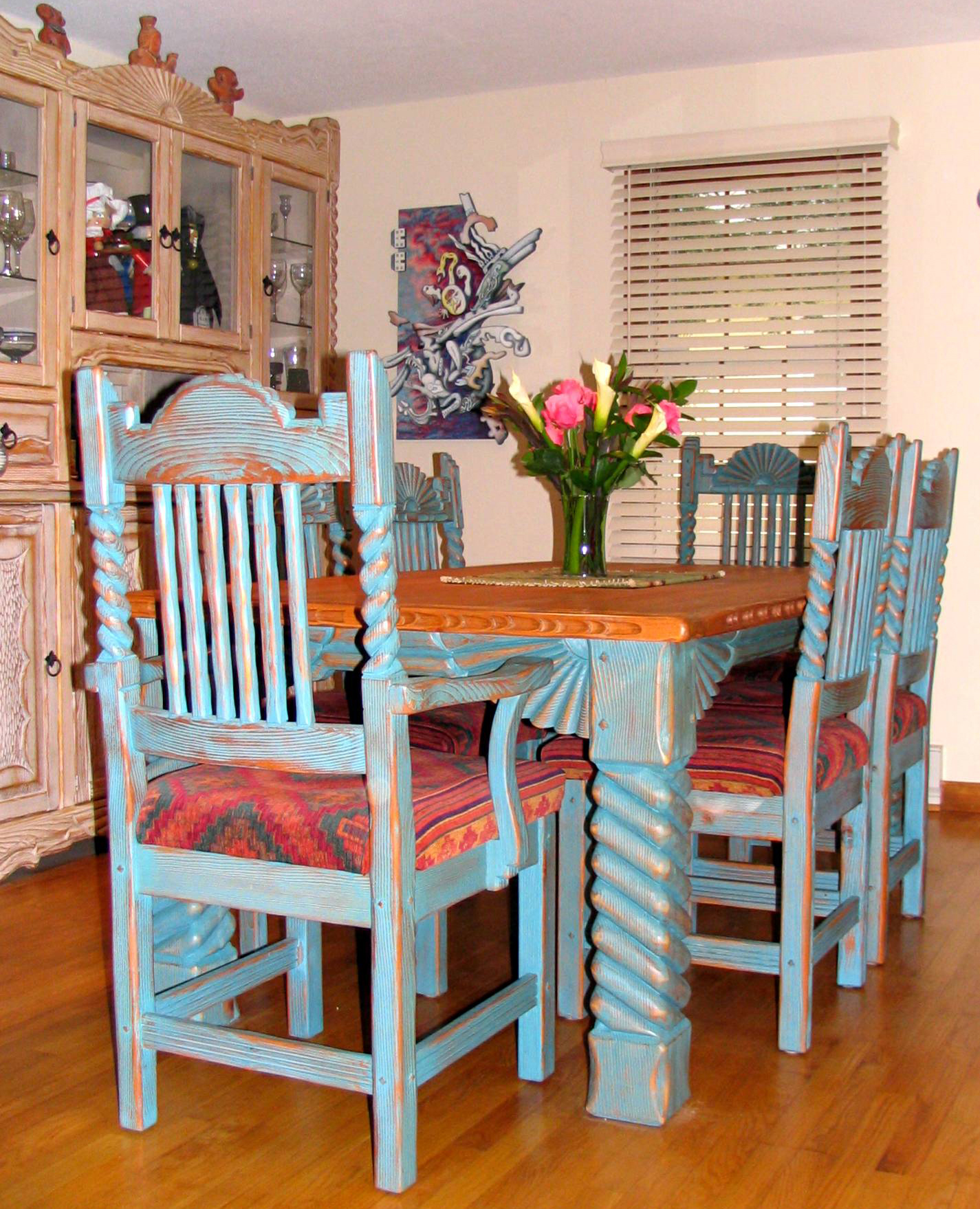 southwest dining chairs the wooden chair 25 southwestern room design ideas interior vogue