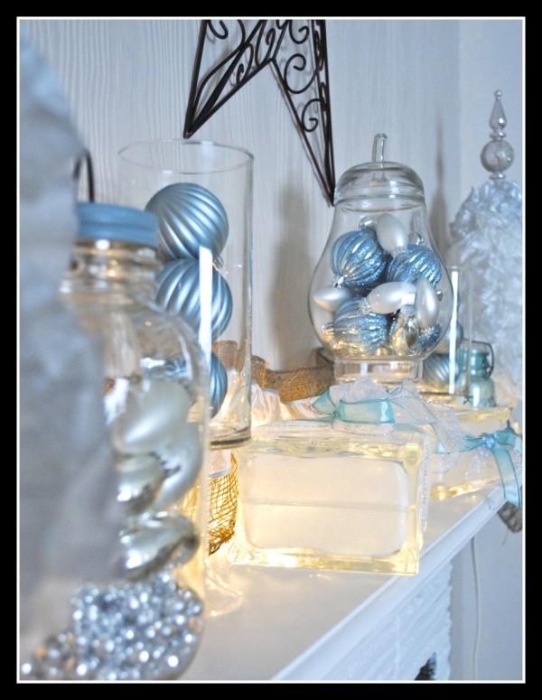 25 Awesome Blue Christmas Decorations Ideas  Interior Vogue
