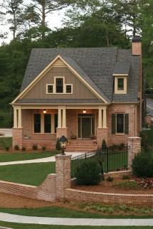 Brick Craftsman Style House Plans