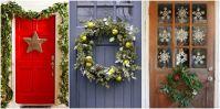40 Fantastic Christmas Door Decorating Ideas - Interior Vogue