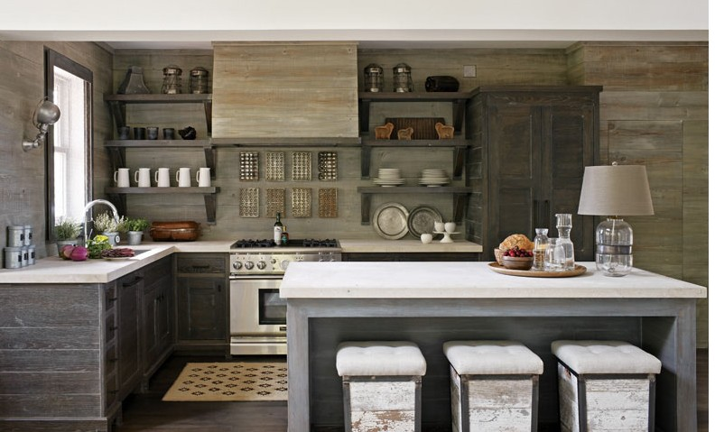 Top Trends Open Shelving in the Kitchen  Interior Walls Designs