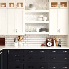 Different Color Kitchen Cabinets Remodeling A Small Painted Archives Interior Walls Designs Upper From Lower Colored