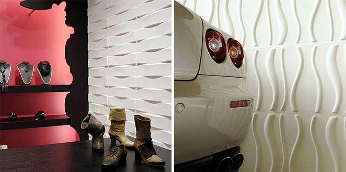 Eco Friendly 3D Wall Panels creative wall panels