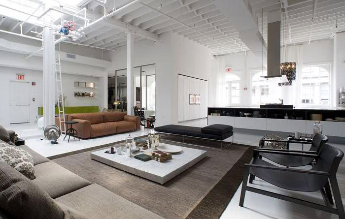 Loft Or Showroom InteriorZine